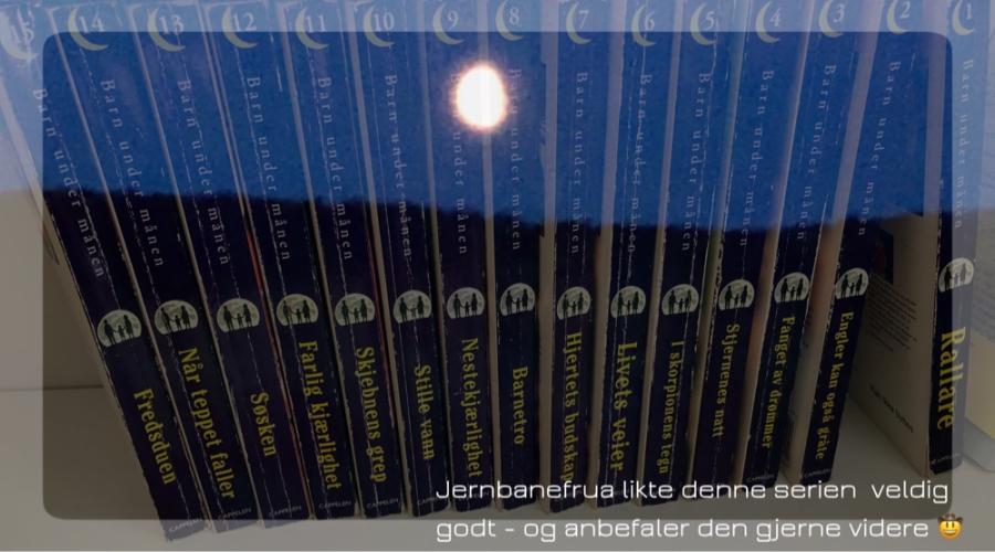 serieromanen barn under månen av jane mysen
