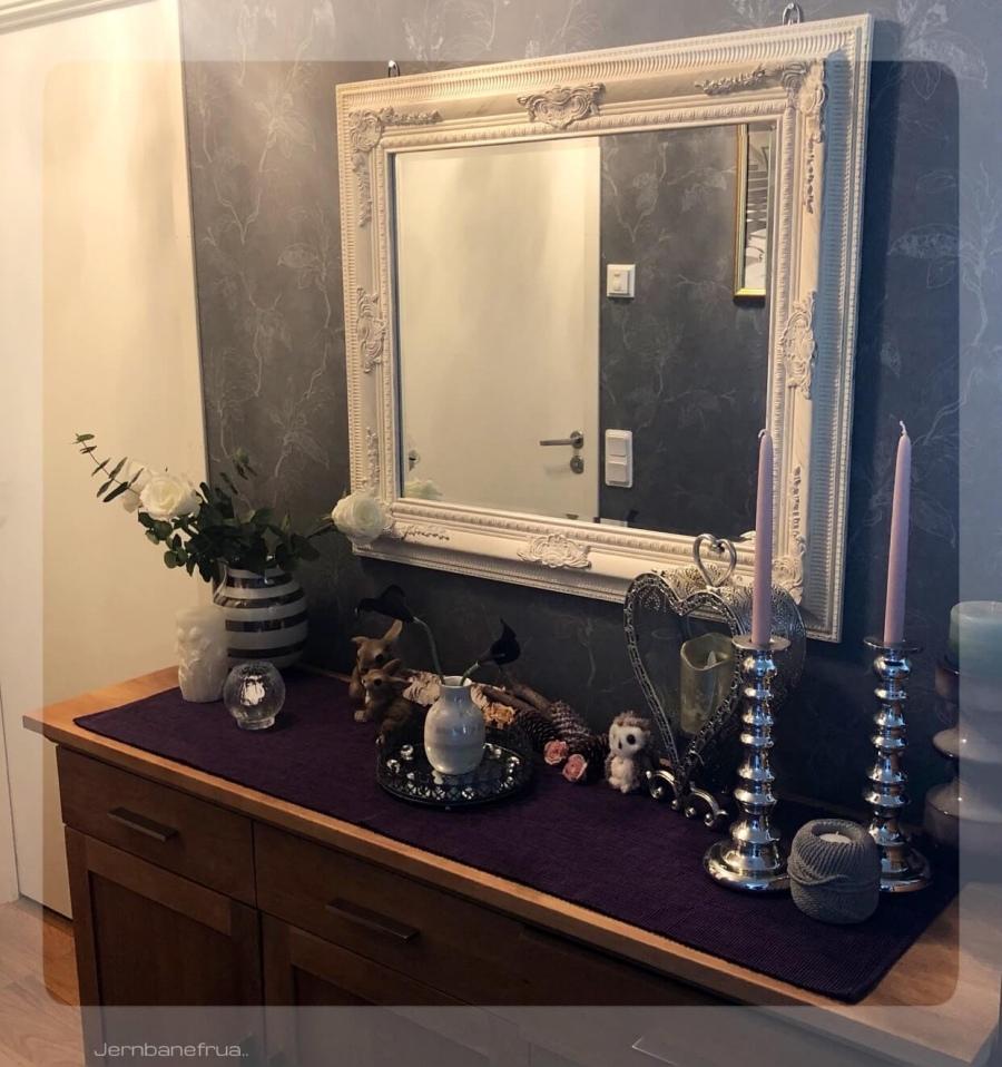 Jernbanefruas nye speil