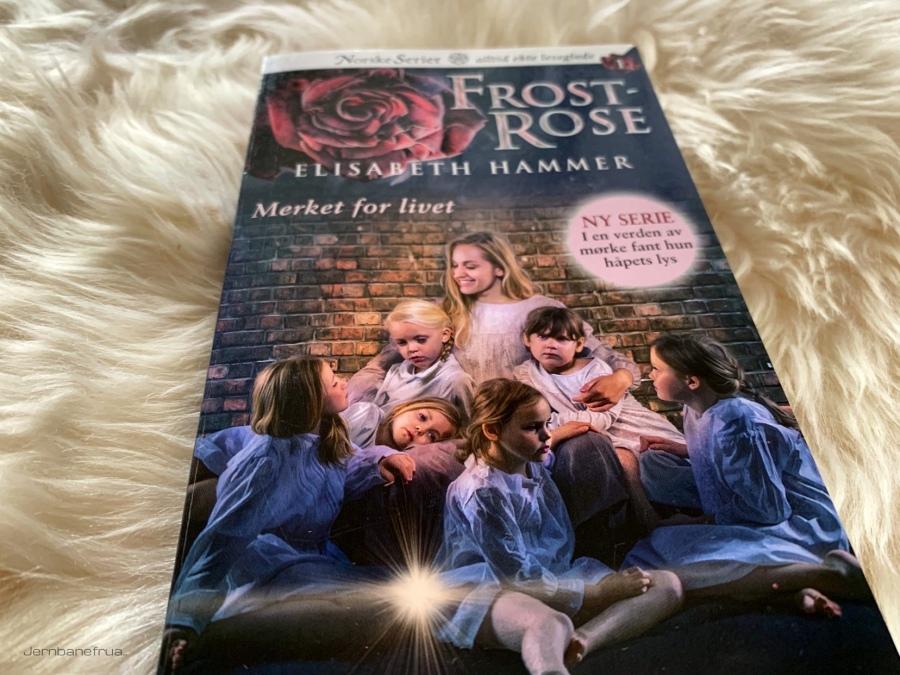 Serieromanen Frostrose. Jernbanefrua.