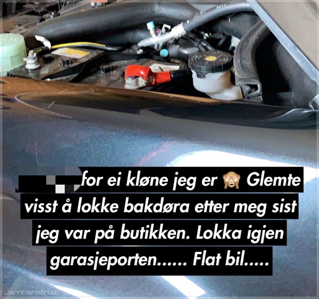 Flatt bilbatteri