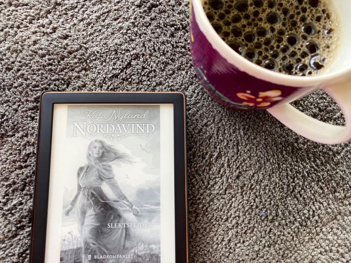 Serieromanen Nordavind, av KajaNylund.