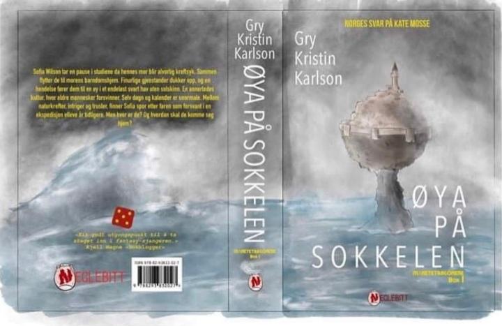 Bokanmeldelse. Øya på sokkelen, av Gry KristinKarlson.