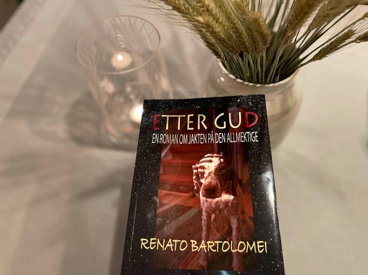 Etter Gud, en roman om jakten på den allmektige, av RenatoBartolomei.
