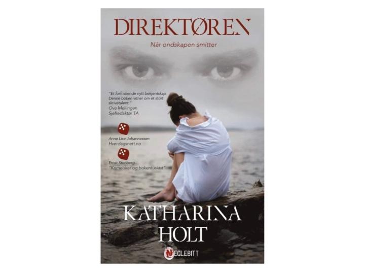 Bokanmeldelse. Direktøren. En kriminalroman av KatharinaHolt.
