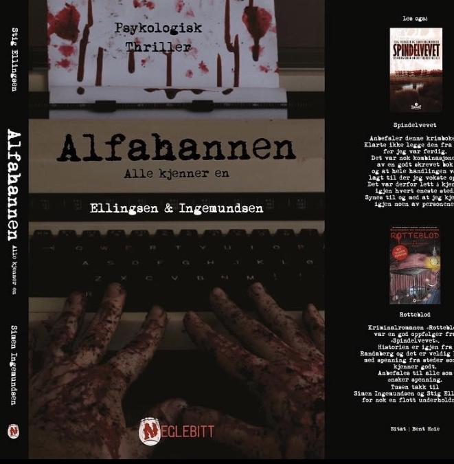 Bokanmeldelse. Alfahannen, en kriminalroman av Ellingsen ogIngemundsen.