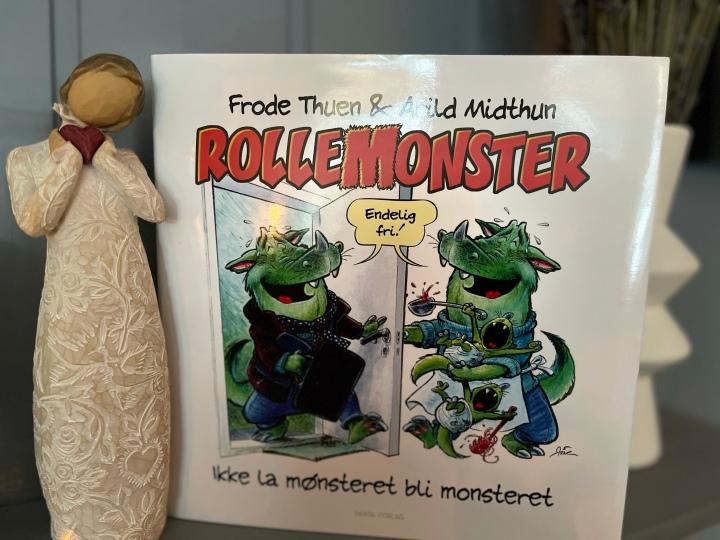 Bokanmeldelse. Rollemonster, av Frode Thuen og ArildMidthun